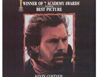 27 X 40 Vintage Movie Poster -  'Dances With Wolves' (Academy Award Winner - Kevin Costner