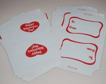 Vintage Valentine's Day Cards Envelopes Set of 24