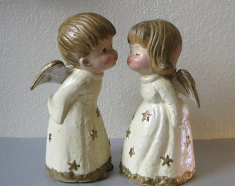 Popular Items For Chalkware Angel On Etsy
