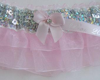 Prom Garters, Pink Prom Garter, Custom Colors Prom Garter, Prom Garter, Wedding  Garters, Prom Garters, Bridal Garter, Bride Garter