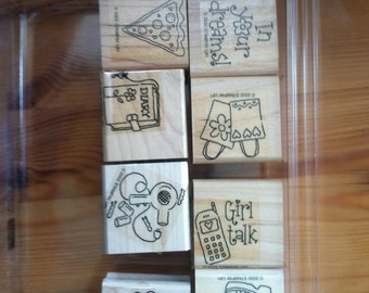 Girlfriend Accessories stamp set by Stampin Up