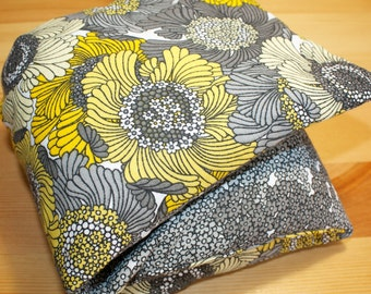Microwavable Heat / Cold Flax Seed bag with washable cover