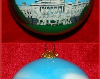 United State Capitol Building Christmas Ornament GOR106