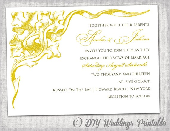 50Th Anniversary Invitations Templates was best invitation ideas