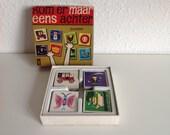 Vintage memory 'Kom er maar eens achter junior' van SIO uit 1965, mooie plaatjes en tekeningen, ook voor scrapbook en artjournaling