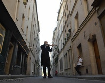 Paris Photography, Violinist, Street musician, Paris musician, Paris decor, French decor, Ile St Louis