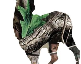 """Deer Buck camo decal/sticker 4""""- 30"""""""
