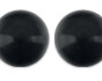 Swarovski Pearl 5810, Crystal Mystic Black 8mm 50pc #001335 Clearance