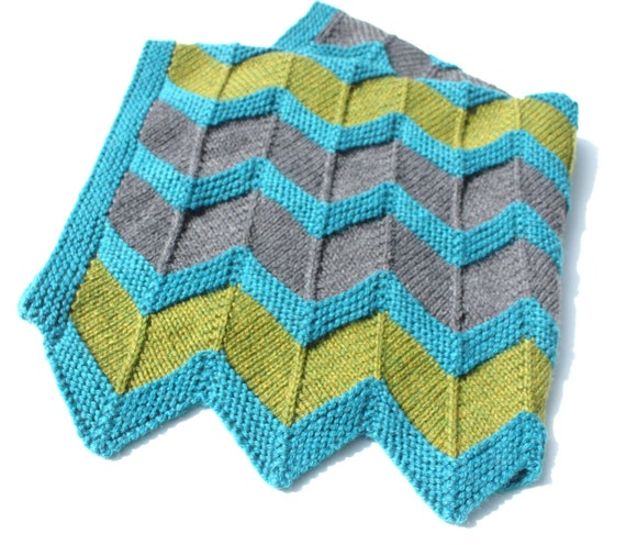 Zip Baby Blanket Pattern chevron knit baby blanket pattern