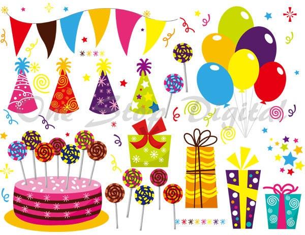 Balloon Gift Box Birthday