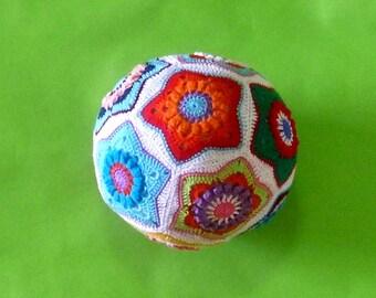 Crochet Pattern-Crochet Star Ball Toy,Toddler Toy,develop motor skills-PDF pattern #1