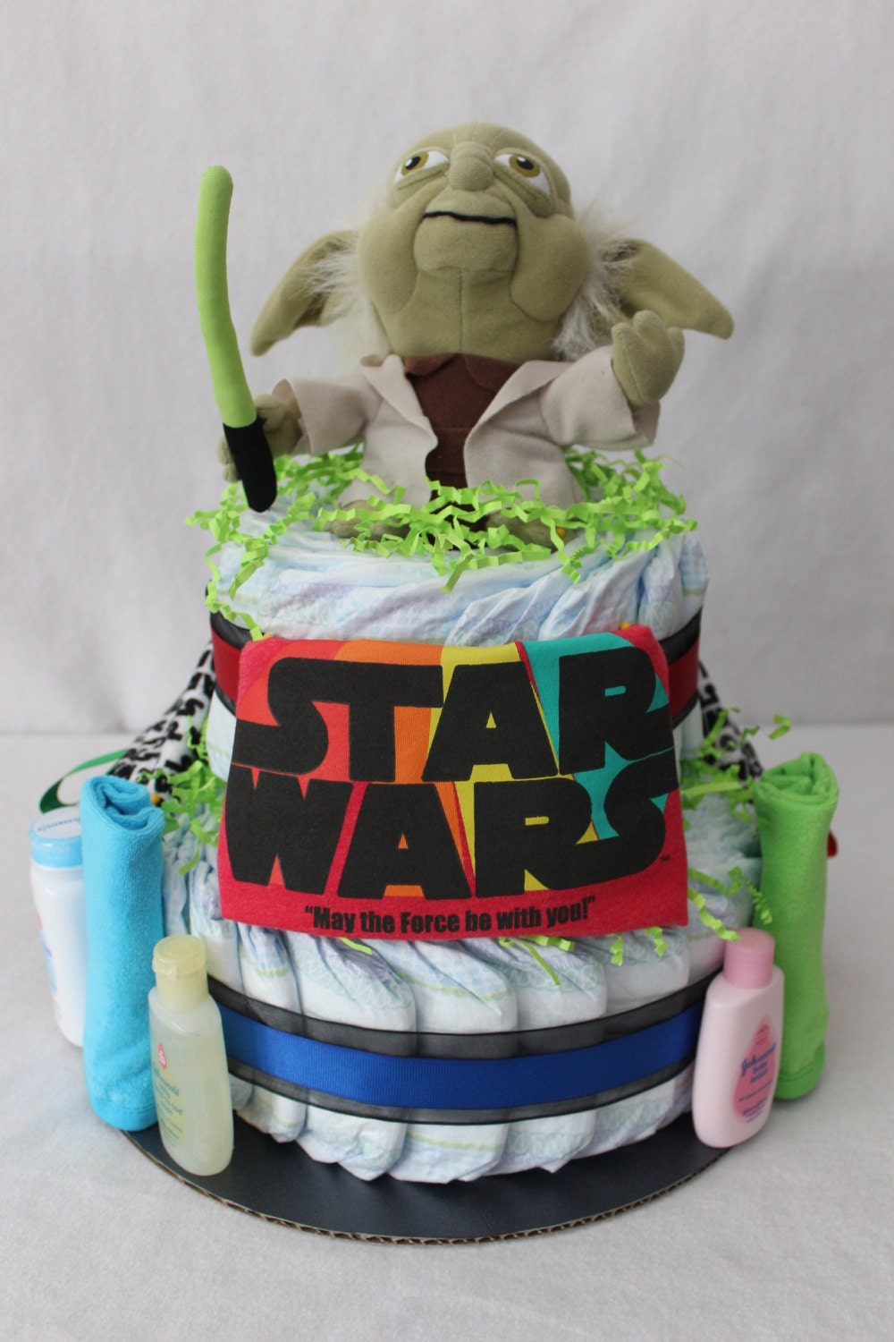 Star Wars Themed Diaper Cake