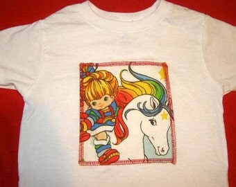 Rainbow Brite shirt in your size Adult or kid kawaii