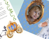 Digital customized letters and pictures from Cinderella in your e-mail