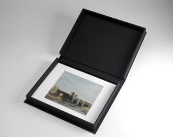 11x14 Lipped Clamshell Print-Photography Handmade Portfolio