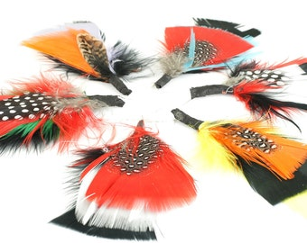 Feather Jewellery Plumes - Multi. JR07670