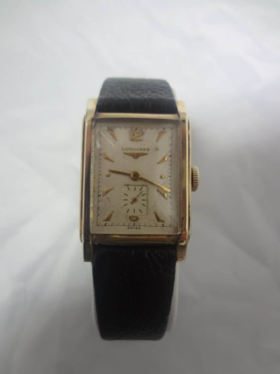 vintage longines mens wrist watch eBay