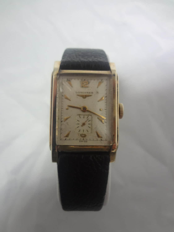 vintage 1940 s longines s wrist