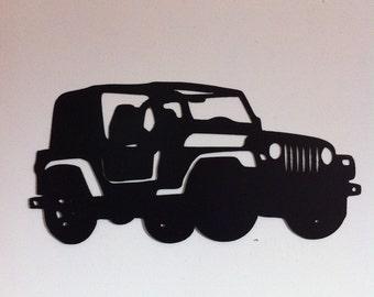 Jeep Wall Decor Metal Jeep Off Road Wall Decor 4 X 4