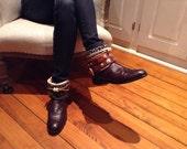 Boots size 81/2 B Cordova color