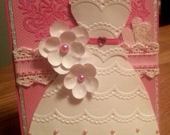 Bridal Shower Card Example