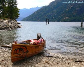 Lake Chelan Canoe