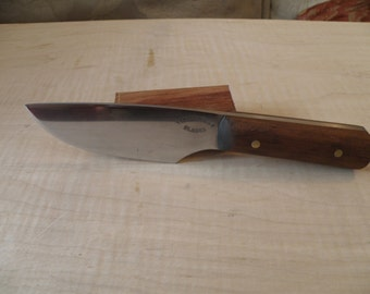 Hand Forged hunting knife.