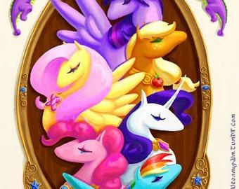 Elements of Harmony My Little Pony Print