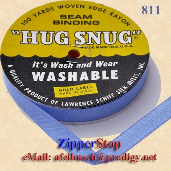 DELFT BLUE Hug Snug Seam Binding 100 Yard Roll 1/2