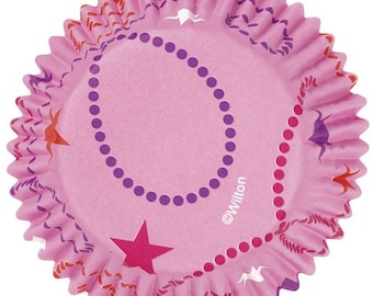 Celebrate Pink ColorCups Wilton Greaseproof Cupcake Liners Baking Cups Muffin Cups - Pink Cupcake Liners