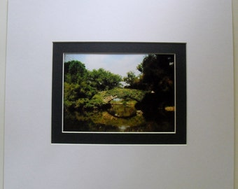 "Wall Decor, New York City Central Park Bridge Colour Photograph,  14"" x 12"""