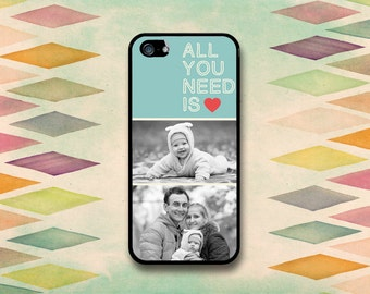 All You Need Is Love & A Photo Case: iPhone 4 // 4s, 5c or 5 // 5s