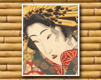 Japanese Print Art Decor Asian Wall Art Poster Decor Japan Retro (J129)