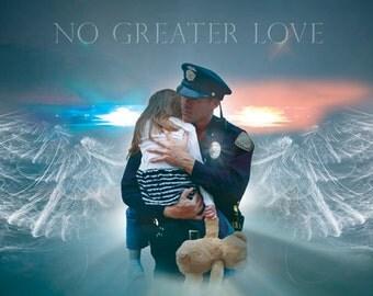 Police Rescue by artist Jason Bullard