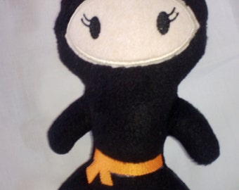 Ninja Stuffie, Stuffed Ninja, Ninja Doll, Ninja Toy, Ninja Stuffy, Soft Ninja Doll, Stuffed Ninja Toy