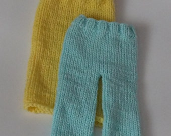 Knitting Patterns Toddlers Trousers : knit baby pants   Etsy UK