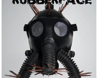 Hellraiser Gas Mask..hand crafted.