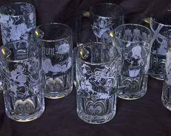 Skullgirls Beer Mugs