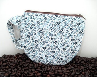 Coffee Cup Pouch - Tea Cup Pouch - Fun Zipper Pouch - Teacher Gift - Coffee Cup Purse