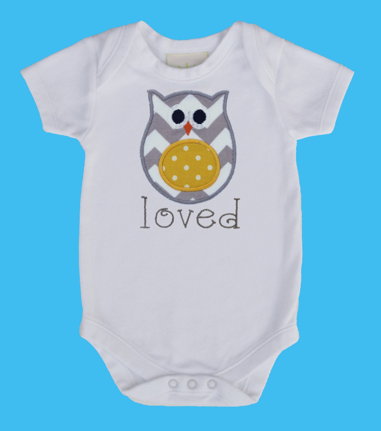Baby Gifts For Either Gender : Personalized bodysuit or toddler shirt chevron by tinysunshine