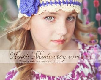Cream Crochet Girls Hat, 12-24 Months Girl Hat, Kids Hat, Childrens Hat, Flapper Hat, Toddler Hat, Cream Hat, Cream Winter Hat, Fall Hat