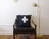 Swiss Cross Decorative Pillow Cover - READY TO SHIP