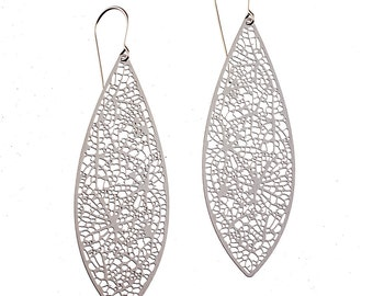 Root Earrings (stainless steel)