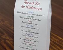 Survival Kit for Hairdressers - Printable PDF