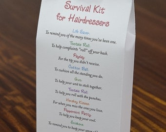 Survival Kit for Hairdressers - Printable PDF