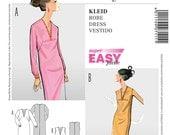 Burda Style Sewing PATTERN - 7111 Dress - Sz 10 - 24