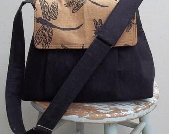 Reserved - - - MEDIUM Camera Bag Purse Large Adjustable Strap Hard Bottom Padded THREE Pockets