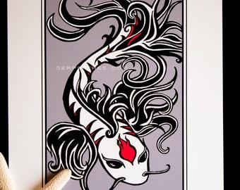 EL PESCADO // 8x10 Koi fine art print