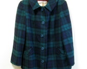 Vintage Pure Wool Lumberjack Plaid Jacket by Pendleton