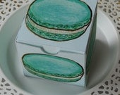 Mint Macaron Treat Box - PDF file - Craft your own